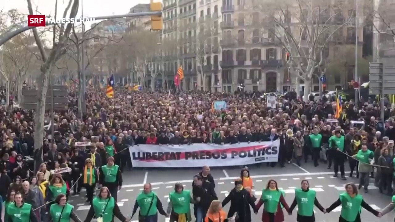 Demonstranten fordern «Freiheit für politische Gefangene»