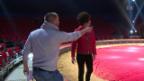 Video «Jonny Fischer: Zirkus-Trainer für Regula Esposito» abspielen