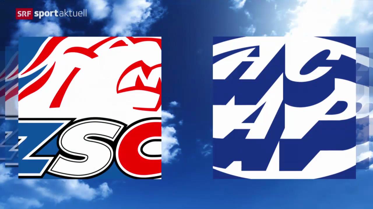 Eishockey: NLA, ZSC Lions - Ambri