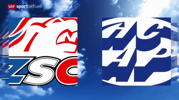 Video «Eishockey: NLA, ZSC Lions - Ambri» abspielen