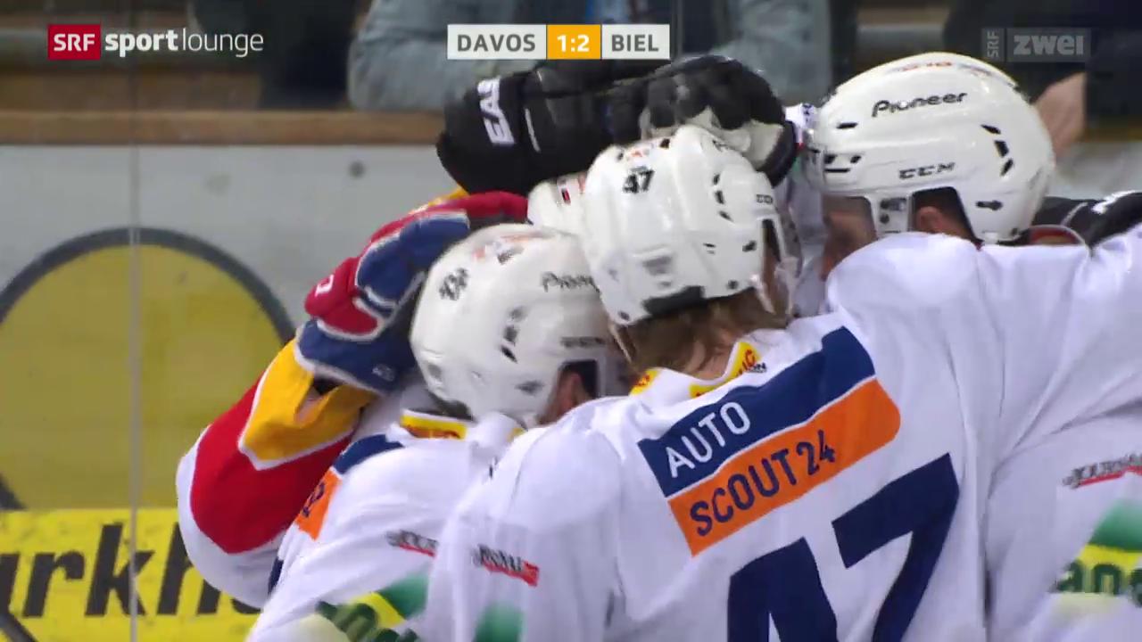 Eishockey: NLA, Davos - Biel