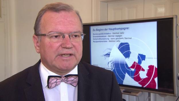 Video «Claude Longchamp: Wieso die SVP eine Asylverschärfung bekämpft» abspielen