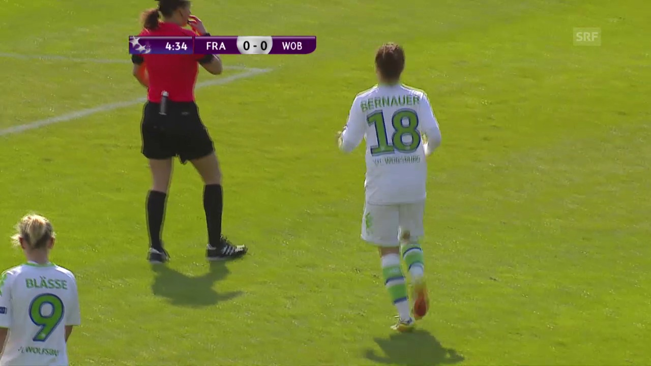 Wolfsburgs Frauen stehen im CL-Final