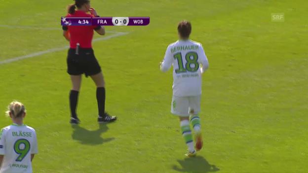 Video «Wolfsburgs Frauen stehen im CL-Final» abspielen