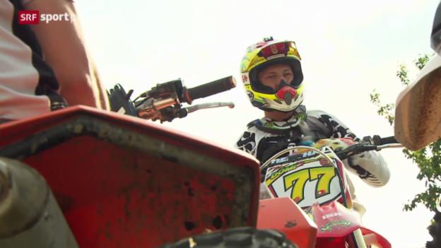 Video «Motocross - Dominique Aegerters Leidenschaft» abspielen