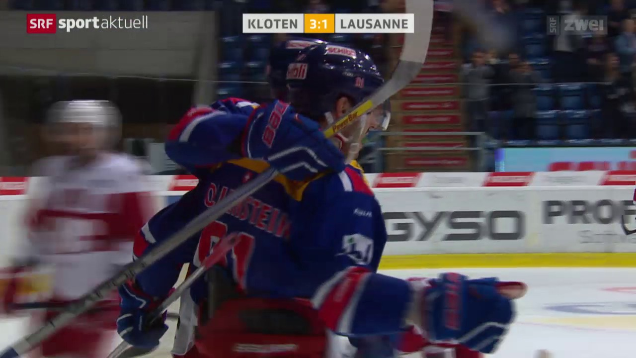 Kloten mit wichtigem Erfolg gegen Lausanne