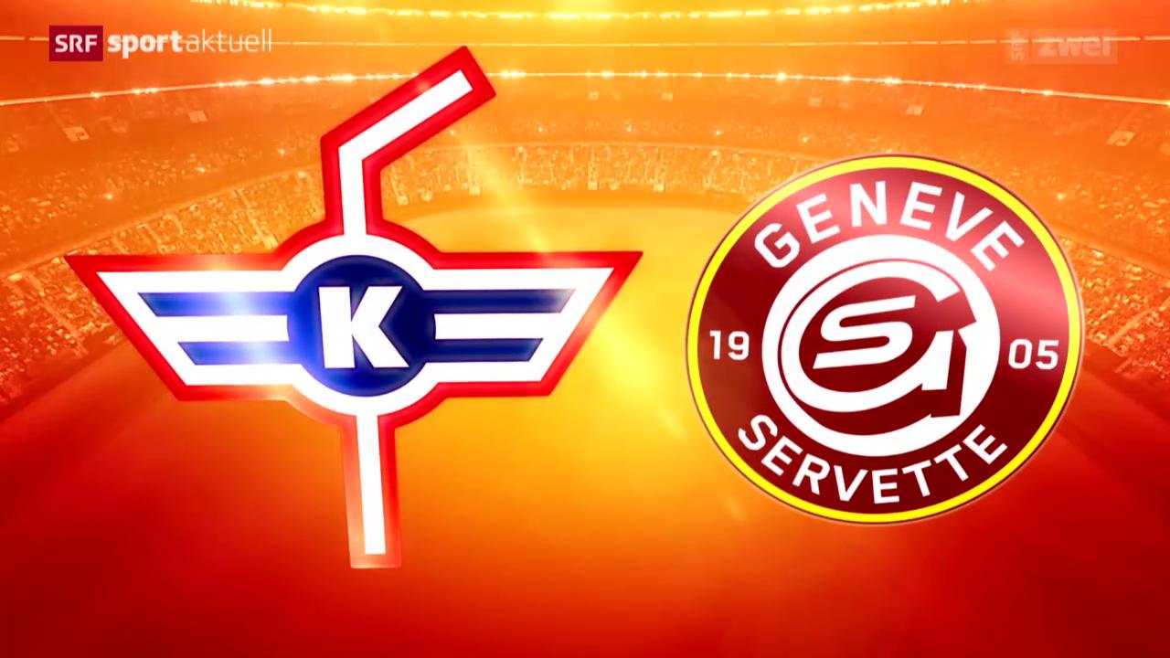 Eishockey: Kloten - Genf