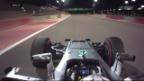 Video «Hamilton sichert sich in Bahrain die Pole» abspielen