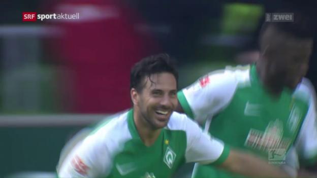 Video «Bremen hält die Liga, Stuttgart steigt ab» abspielen