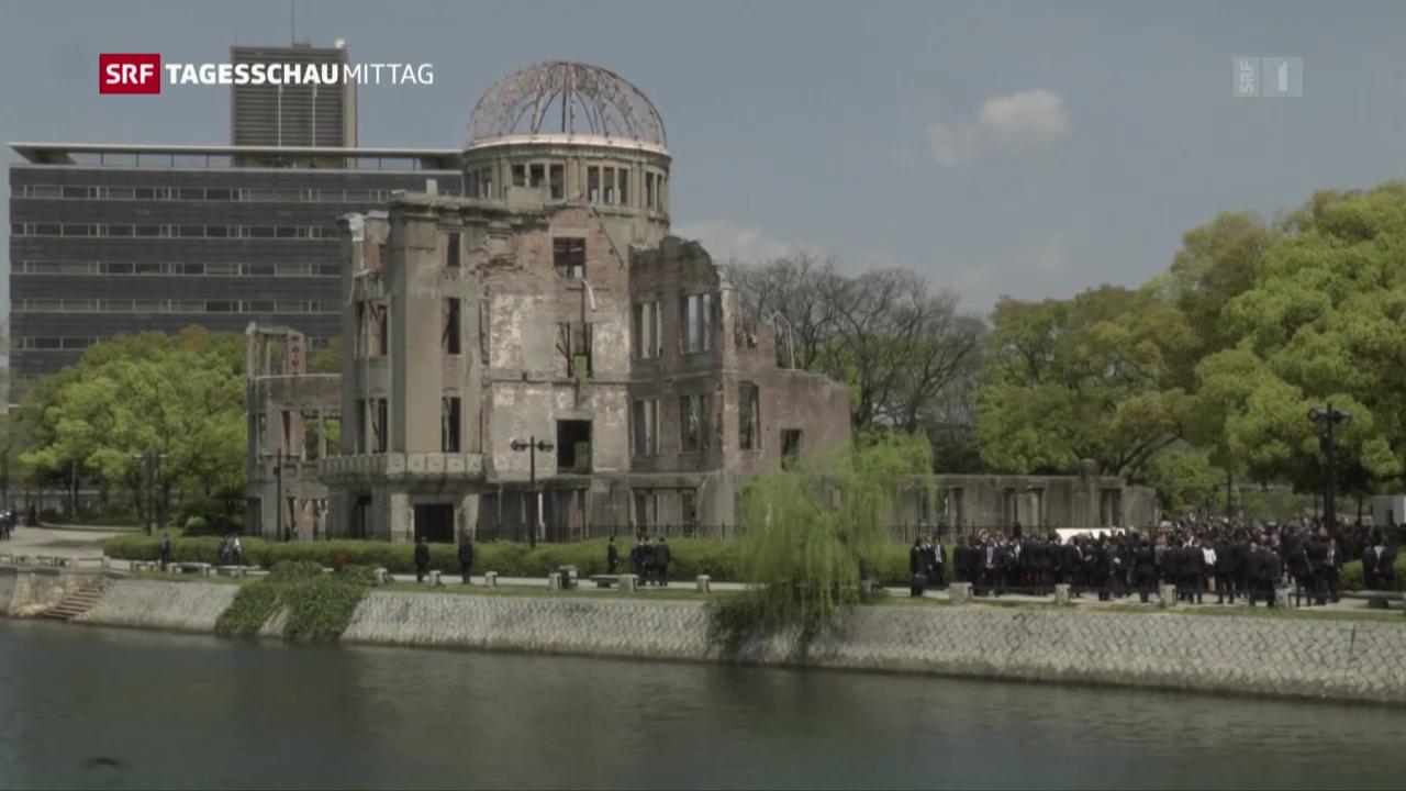 Ein Besuch – aber keine Entschuldigung für Hiroshima