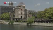 Video «Ein Besuch – aber keine Entschuldigung für Hiroshima» abspielen