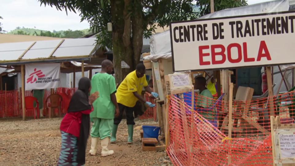 Ebola wieder auf dem Vormarsch