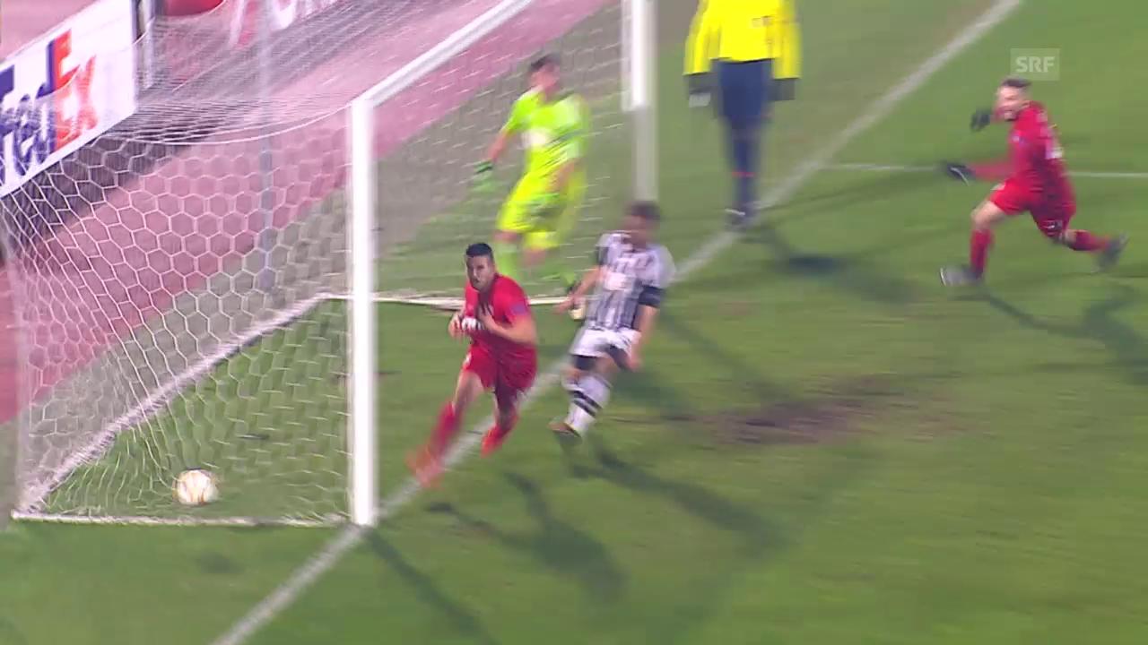 Fussball: Europa League, Partizan Belgrad - Augsburg