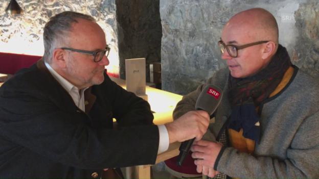 Video «Die preiswerte Küche in St. Moritz» abspielen