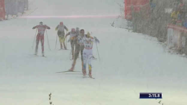 Video «Langlauf, Tour de Ski: Sprint freie Technik («sportlive», 29.12.2013)» abspielen