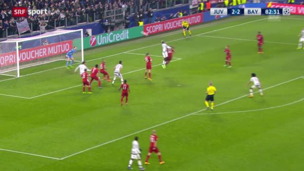 Video «Juventus - Bayern: Die Live-Highlights» abspielen
