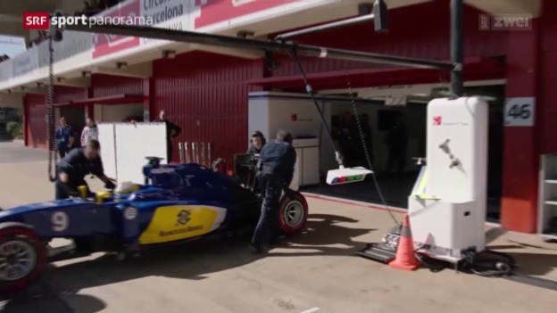 Video «Formel 1: Tests in Barcelona» abspielen