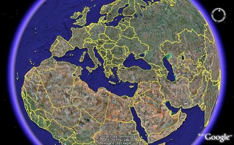 Das globale Auge – Wie «Google Earth» unsere Sicht auf die Welt verändert