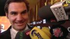 Video «Roger Federer ist «Sportler des Jahres»» abspielen
