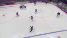 Video «Sotschi: Die Tore von Erik Karlsson gegen Tschechien (sotschi direkt, 12.2.14)» abspielen