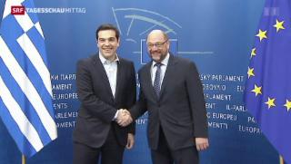 Video «Griechenland-Gespräche in Brüssel» abspielen