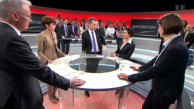 Video ««Arena» zur Rentenreform 2020» abspielen