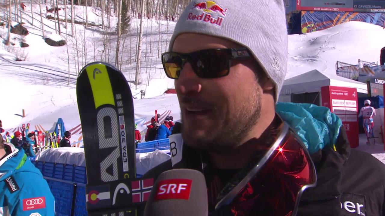 Ski alpin: WM 2015 in Vail/Beaver Creek, Abfahrtsvorschau mit Aksel Svindal