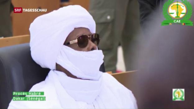 Video «Tschads Ex-Diktator Hissène Habré verurteilt» abspielen