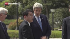 Video «Ein Besuch – aber keine Entschuldigung für Hiroshima » abspielen