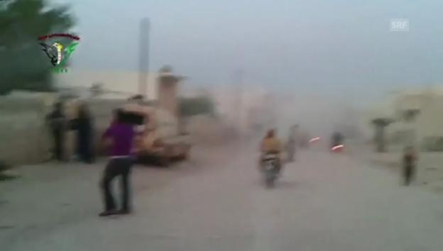 Video «Angeblicher Giftgas-Anschlag in Syrien (unkommentiert)» abspielen