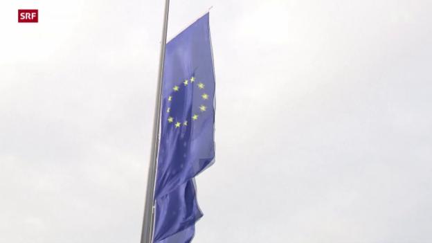 Video «EZB belässt Leitzins auf Rekordtief» abspielen
