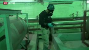 Video «Friedensnobelpreis für Chemiewaffen-Abrüstung» abspielen