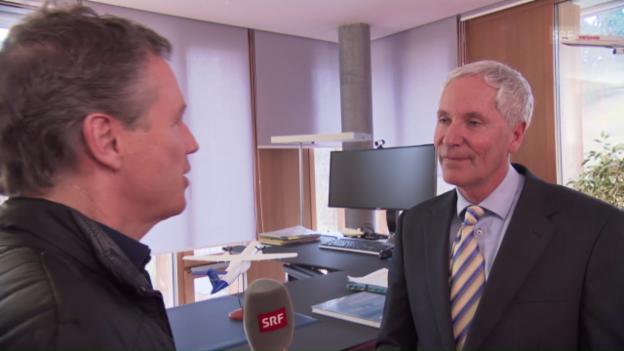 Video «Interview mit Urs Holderegger vom Bundesamt für Zivilluftfahrt» abspielen