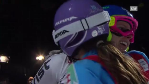 Video «Ski: Final Parallelslalom Frauen («sportlive»)» abspielen