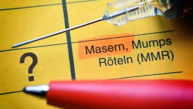 Masern – Wer sollte seinen Impfstatus überprüfen?
