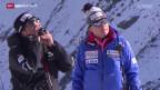 Video «Ski alpin: Trainingslager in Saas Fee» abspielen