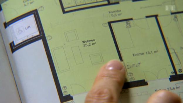wenn die wohnfl chen angabe frisiert ist sendungen srf. Black Bedroom Furniture Sets. Home Design Ideas