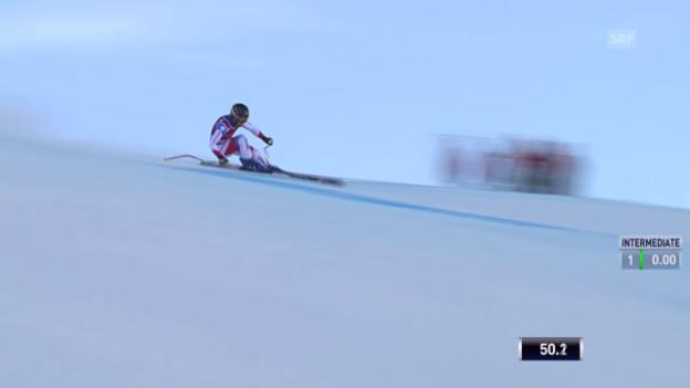 Video «Ski: Die Abfahrt von Fabienne Suter» abspielen