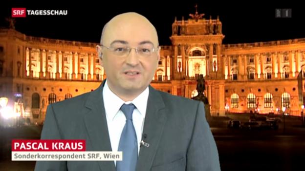 Video «SRF-Korrespondent Pascal Kraus zum Votum der Österreicher gegen eine Berufsarmee» abspielen