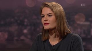 Video «Roger Schawinski im Gespräch mit Hazel Brugger » abspielen