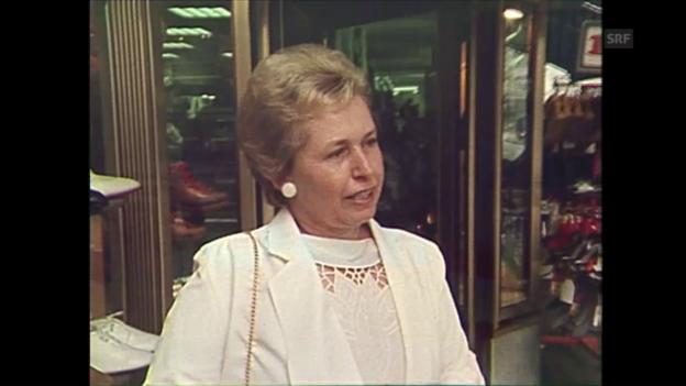 Video «Umfrage (aus «Medienkritik» vom 9.8.1984)» abspielen