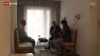Video «FOKUS: Nachrichten aus der zerstörten Heimat» abspielen