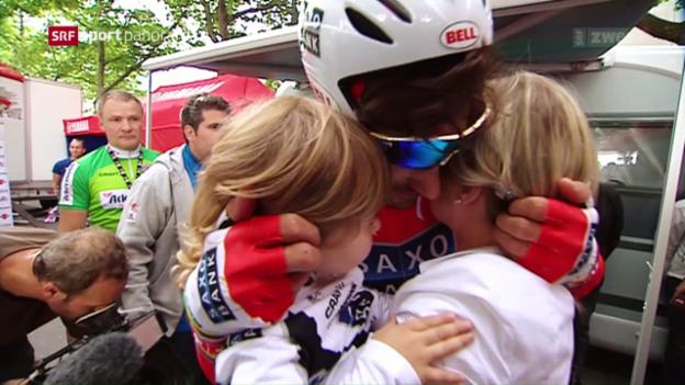 Video «Cancellara über das Familienleben während und nach der Karriere» abspielen