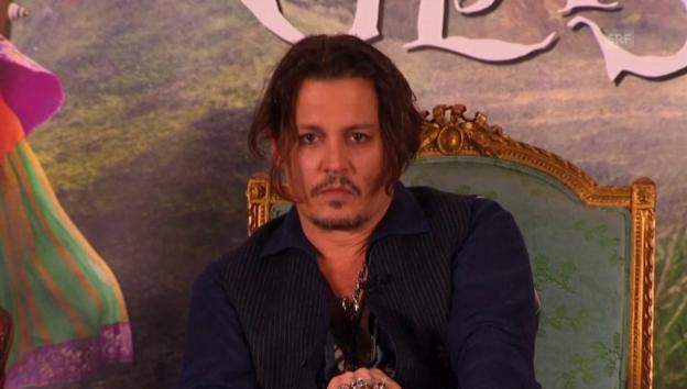 Video «Johnny Depp und das Hunde-Gate» abspielen