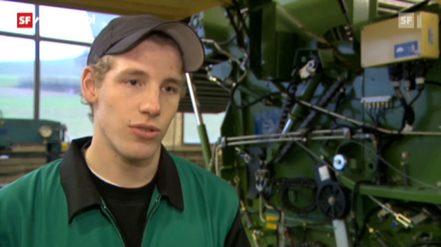 Berufsbild: Landmaschinenmechaniker EFZ