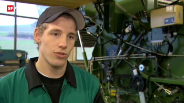 Video «Berufsbild: Landmaschinenmechaniker EFZ» abspielen