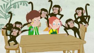 Video «Peek Zoo - Frechi Äffli» abspielen