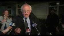 Video «Sanders reagiert auf Sieg von Clinton» abspielen