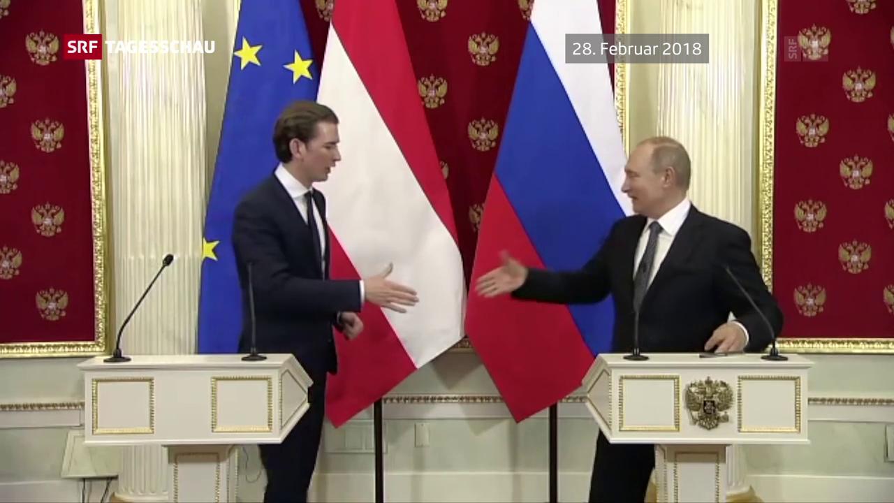 Putin in Wien