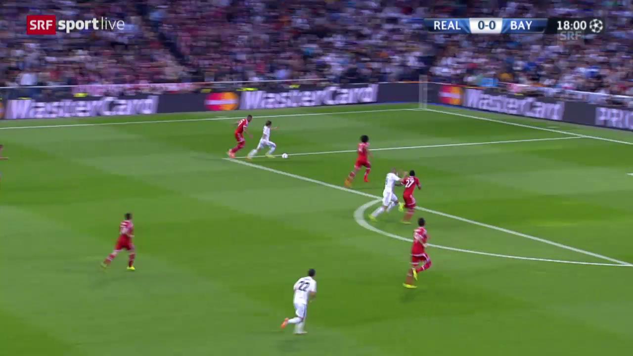 Reals Bilderbuchkonter zum 1:0 gegen Bayern